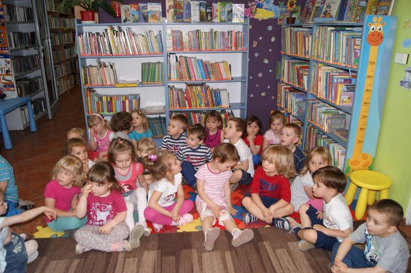 Zabezpieczony: Zajęcia edukacyjne w bibliotece – Iskierki