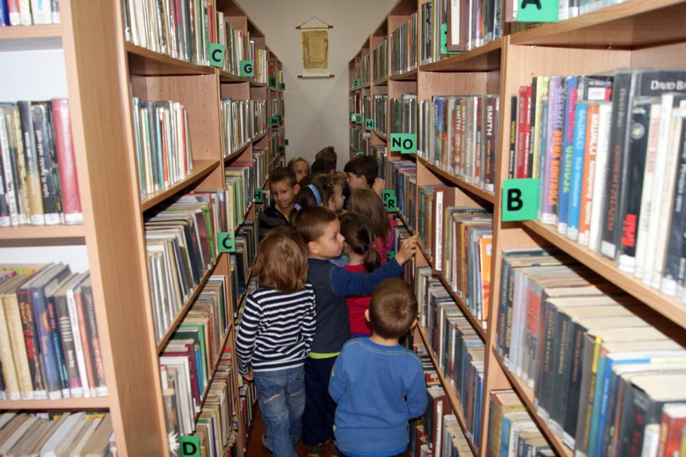 Zabezpieczony: Smerfy w Bibliotece