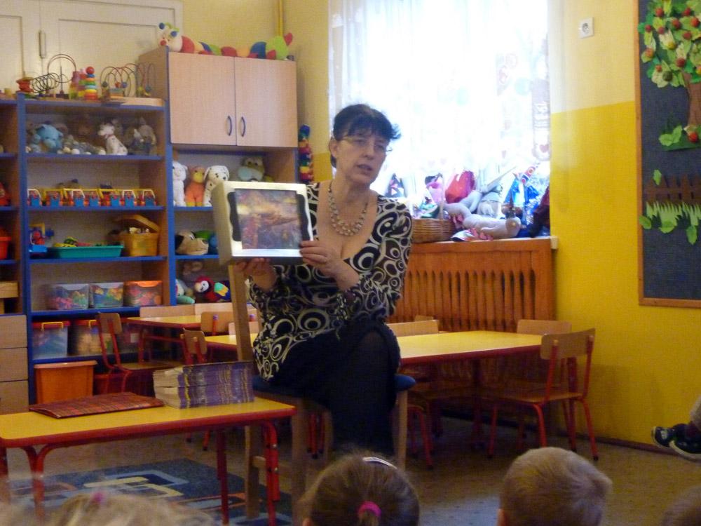 Zabezpieczony: Spotkanie z autorką książek dla dzieci – p. Barbarą Ciemską