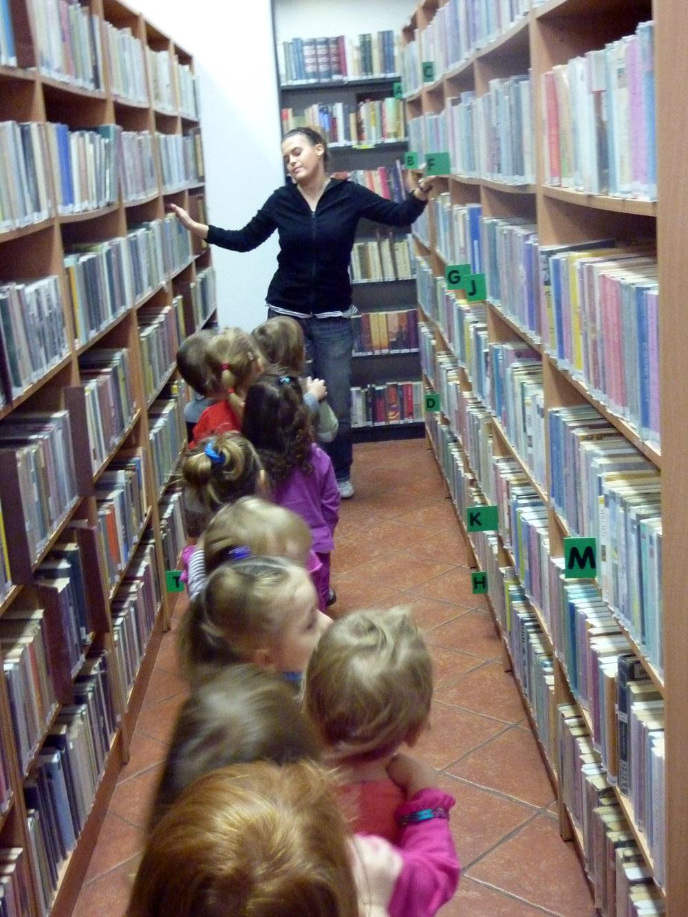 """Zabezpieczony: """"Gąsieniczki"""" w bibliotece"""