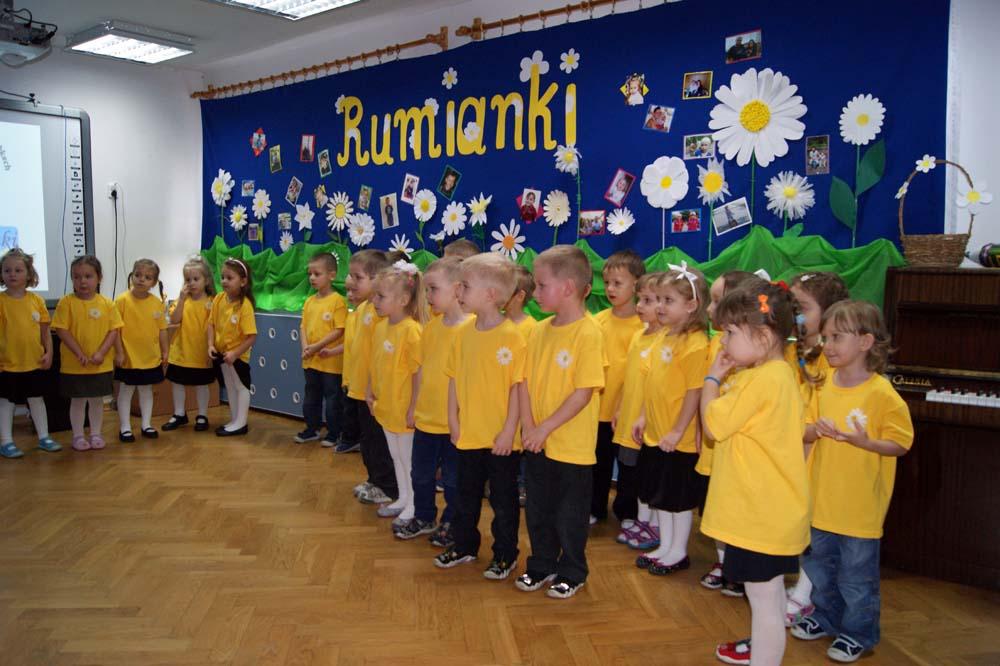 Zabezpieczone: Uroczystość pasowania na przedszkolaka w grupie Rumianków