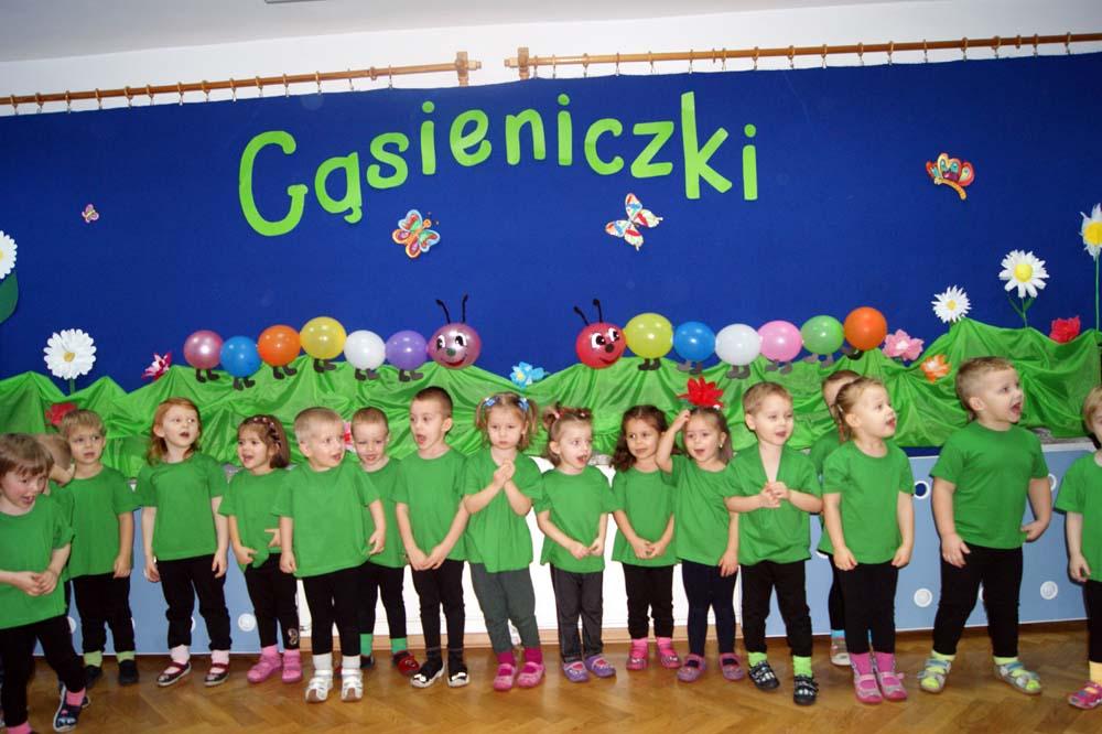 Zabezpieczony: Uroczystość pasowania na przedszkolaka w grupie Gąsieniczek