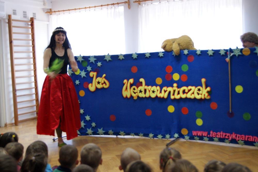 """Zabezpieczony: Teatr JAŚ i spektakl """"Jaś Wędrowniczek"""""""