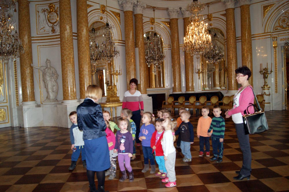 Zabezpieczony: Wycieczka do Zamku Królewskiego Gąsieniczek i Rumianków