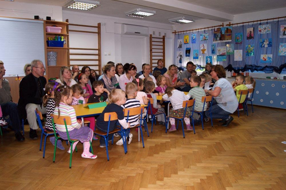 Zabezpieczony: Zajęcie otwarte dla rodziców i zebranie – Rumianki