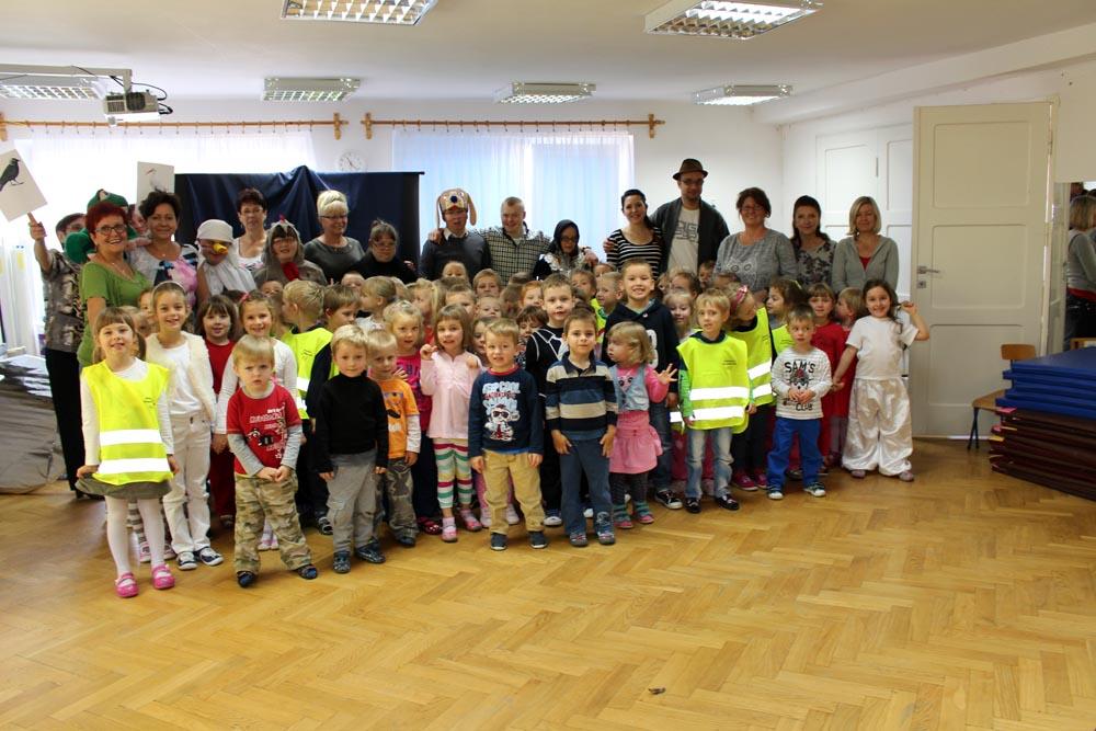 Wizyta Koła Dzieci i Młodzieży Niepełnosprawnej TPD w Ząbkach – występy podopiecznych Koła i Przedszkolaków
