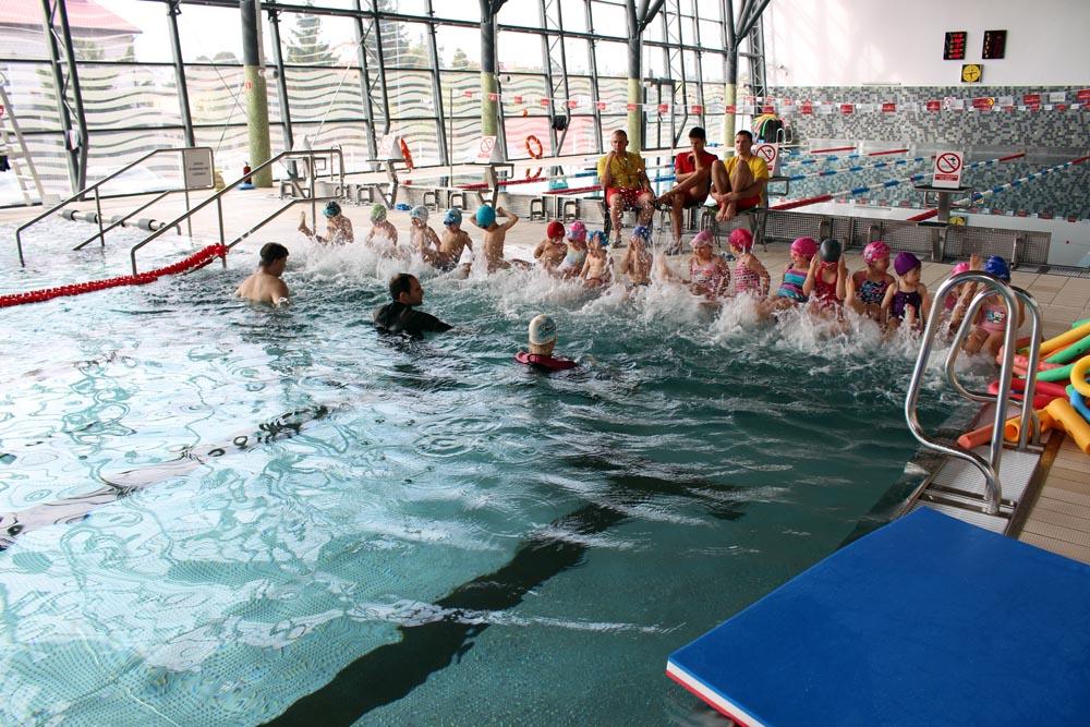 Rumianki i Iskierki na basenie (zdjęcia i filmiki)
