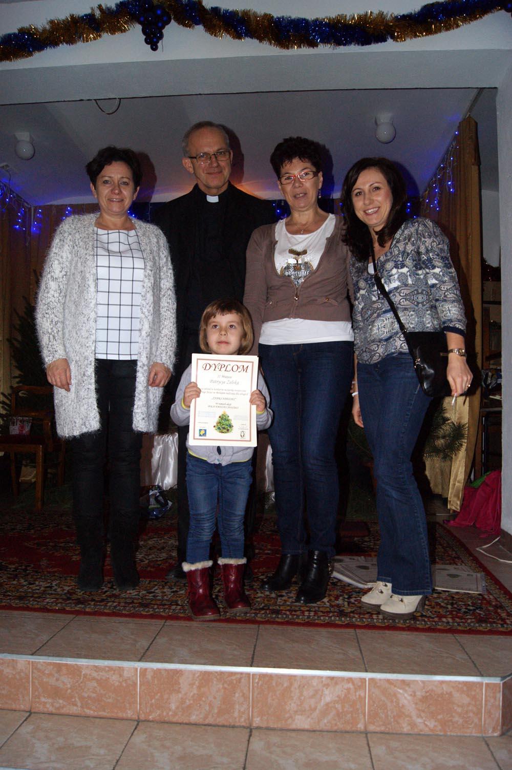 Odbiór nagród w konkursie Hospicjum