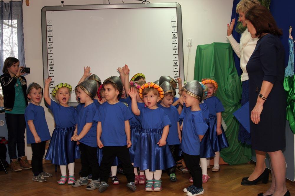 Uroczystość Pasownia na Przedszkolaka – Szafirki