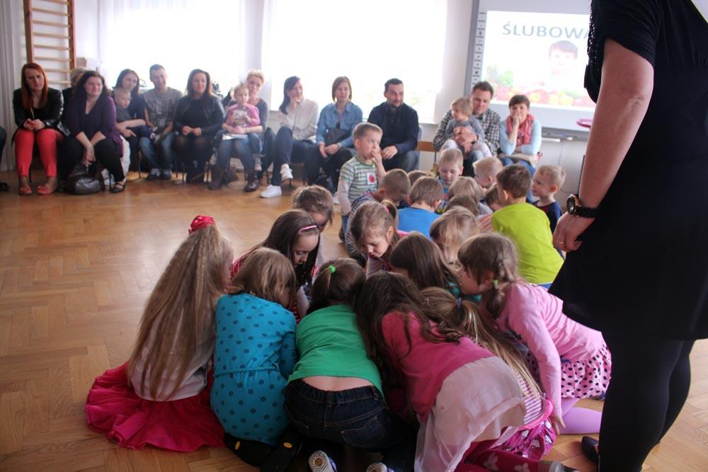 Zajęcia otwarte w grupie Rumianków