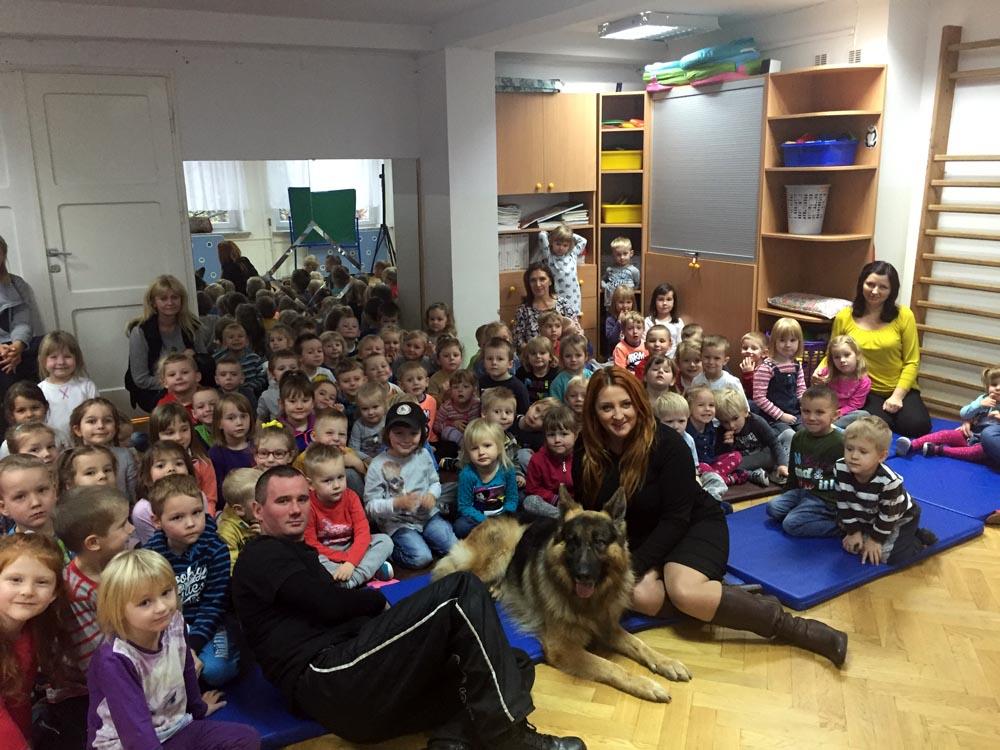 Spotkanie z przedstawicielami z firmy Szkolenia psów Team Dog współpracującymi z Fundacją Mareckie Bezdomniaki