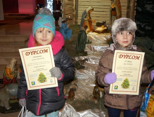 Iga i Lena z Gąsieniczek nagrodzone w konkursie!
