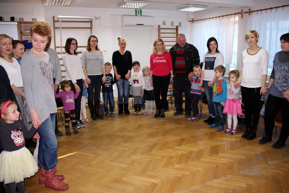 Zajęcia otwarte dla rodziców w grupie Szafirków