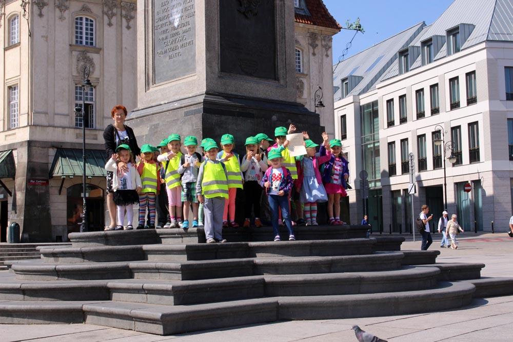 2016-06-13 Wycieczka do Zamku Królewskiego – Szafirki