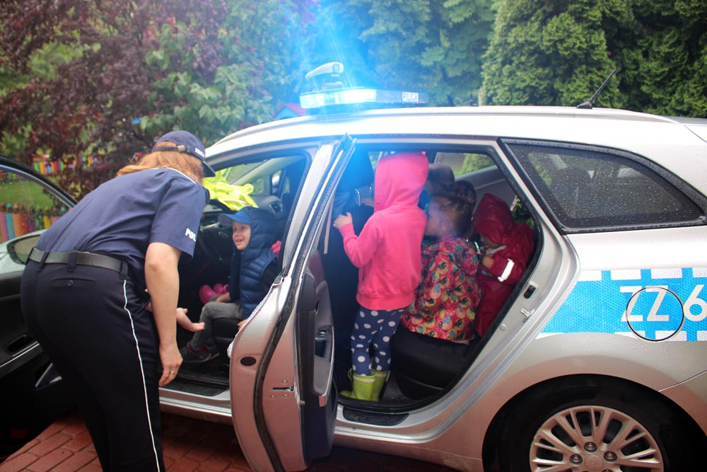 Spotkanie z Policją drogową Komendy Stołeczniej