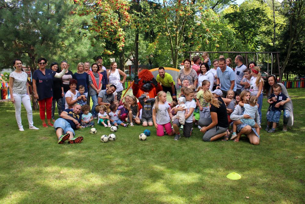 Piknik Koszyczkowy zorganizowany dla przyszłych Maluszków a ramach programu adaptacyjnego