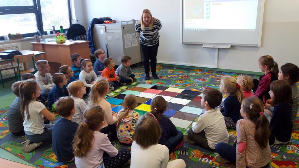 Maczki uczą się programowania w Szkole Podstawowej nr 3