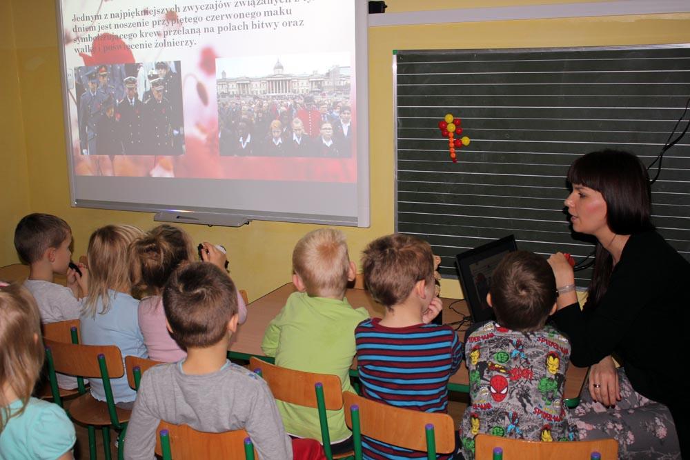 Realizacja Innowacji pedagogicznej Do kraju anglojęzycznego zapraszam cię kolego – POPPY DAY – święto brytyjskie
