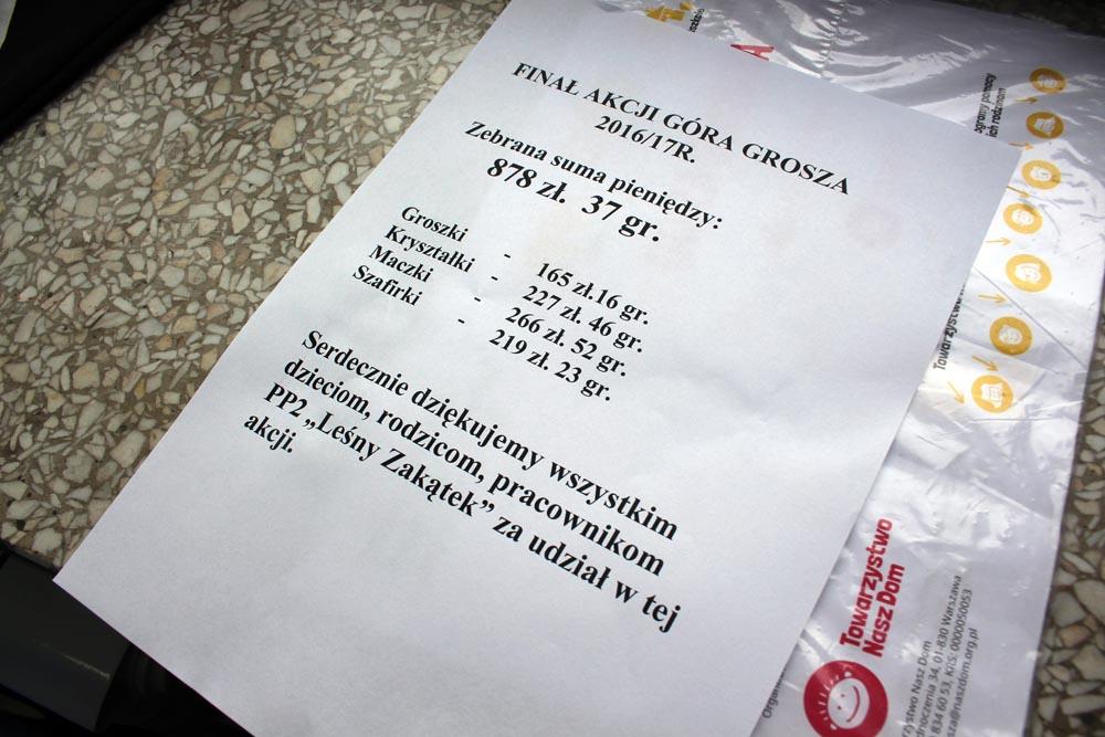 """Finał akcji """"Góra grosza"""""""