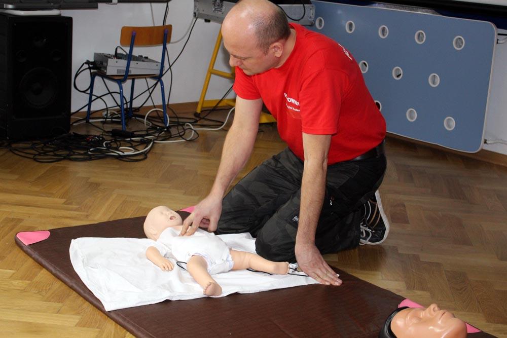 Szkolenie z pierwszej pomocy dla rodziców naszych przedszkolaków.