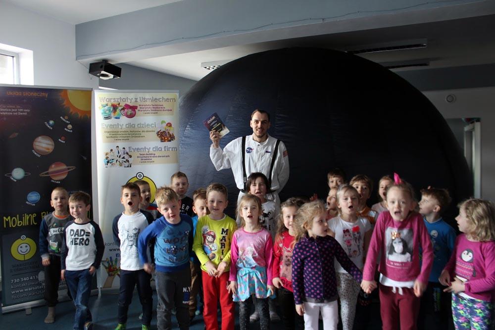 Spotkanie z gwiazdami w planetarium
