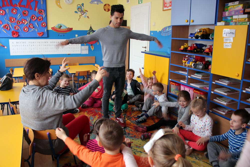 Na zajęciach z angielskiego gościliśmy Hameeda posługującego się sześcioma językami