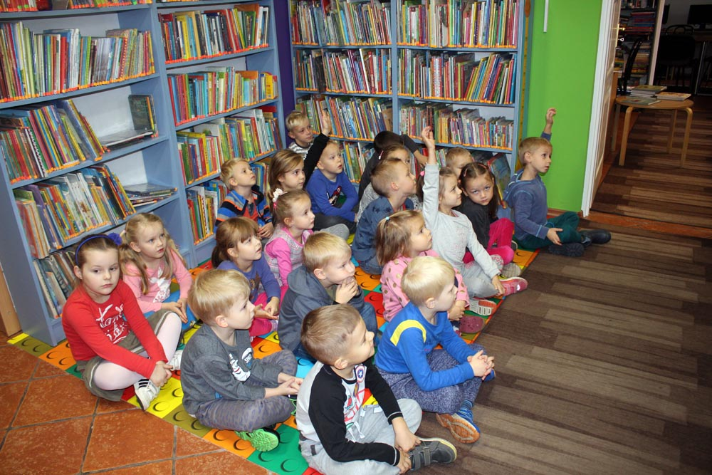 Groszki i Kryształki w Bibliotece Miejskiej – zajęcia edukacyjne