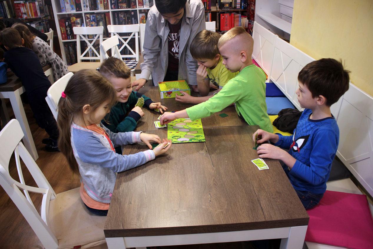 Warsztaty z gier planszowych w Cafe Orla