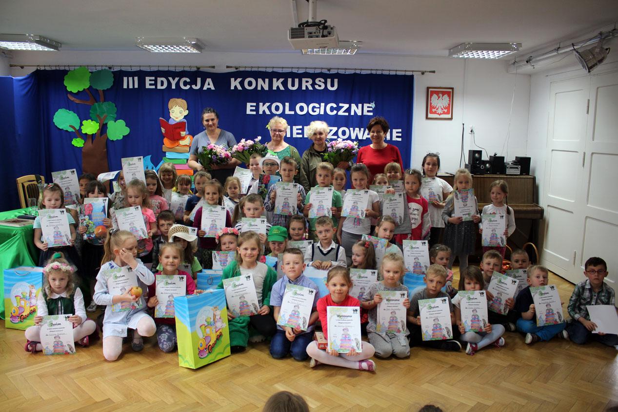 """III edycja konkursu recytatorskiego """"Ekologiczne wierszowanie"""""""