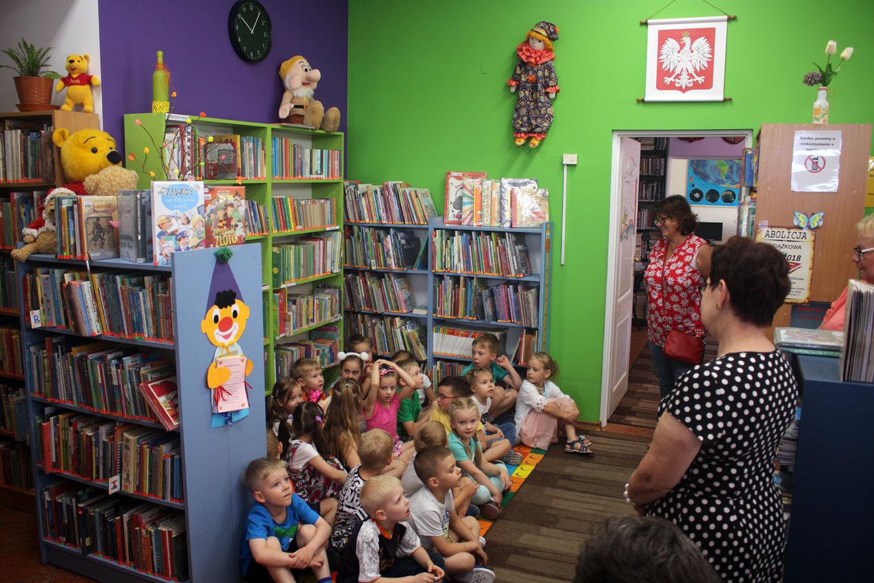 Zajęcia edukacyjne w Bibliotece Miejskiej