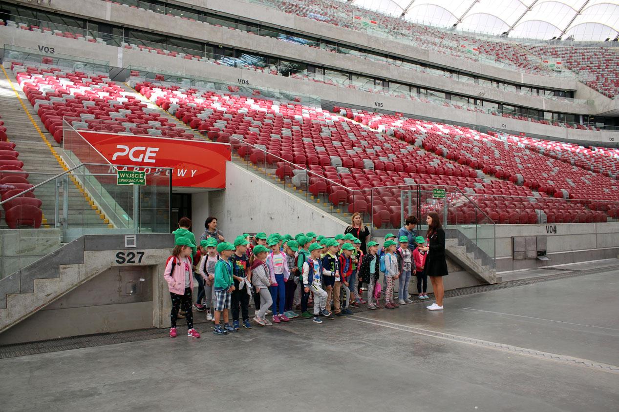 Wycieczka na Stadion Narodowy