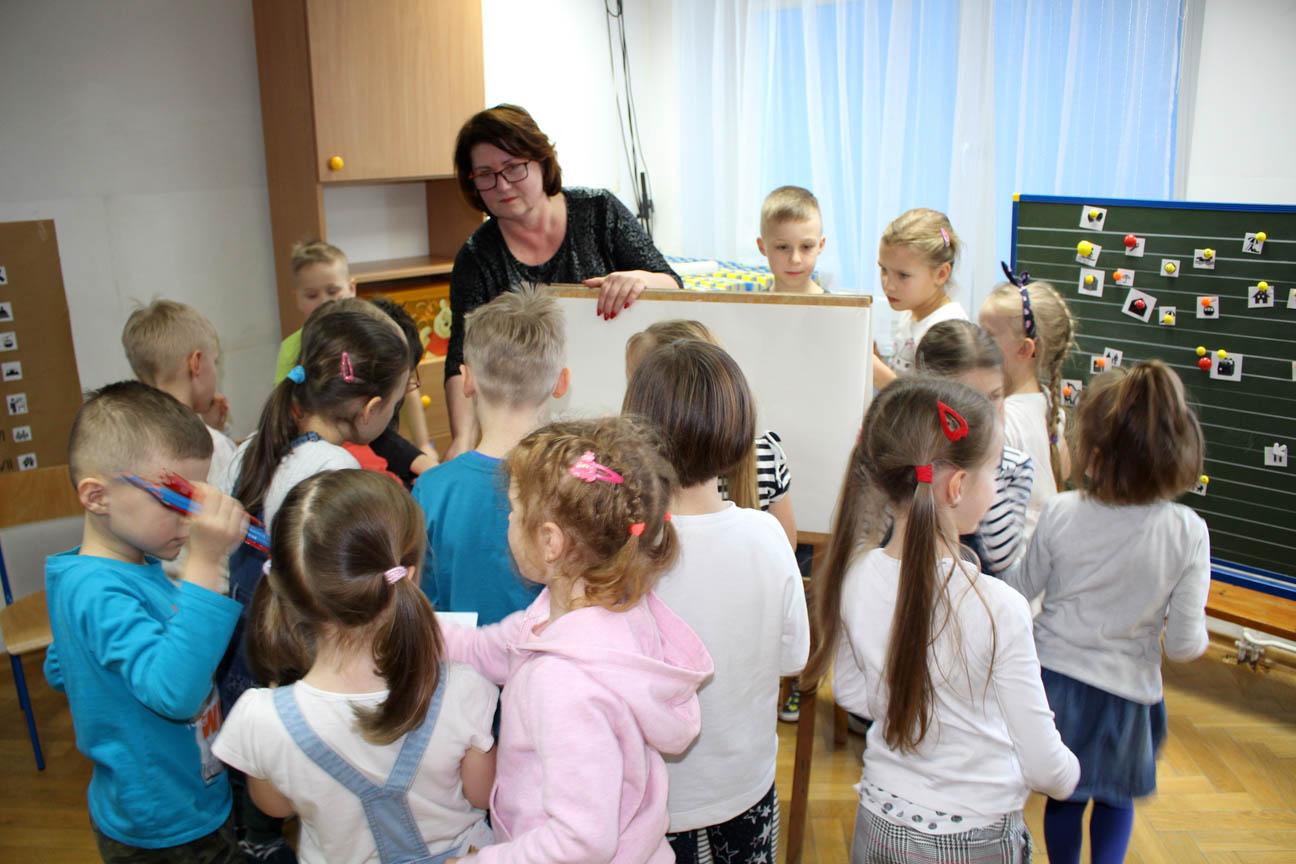 Zajęcia otwarte dla rodziców w Chaberkach, Różyczkach, Kryształkach i Groszkach