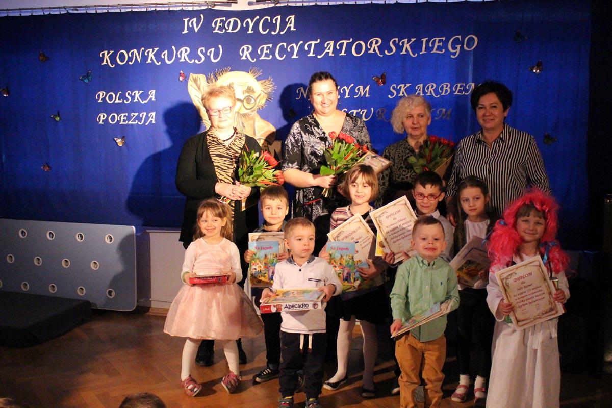 Konkurs recytatorski – Polska Poezja Naszym Skarbem Kulturowym