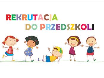 Rekrutacja do przedszkola 2020/2021