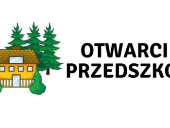 Informacja w sprawie możliwości otwarcia samorządowych przedszkoli w Ząbkach
