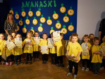 Pasowanie na przedszkolaka Ananasków